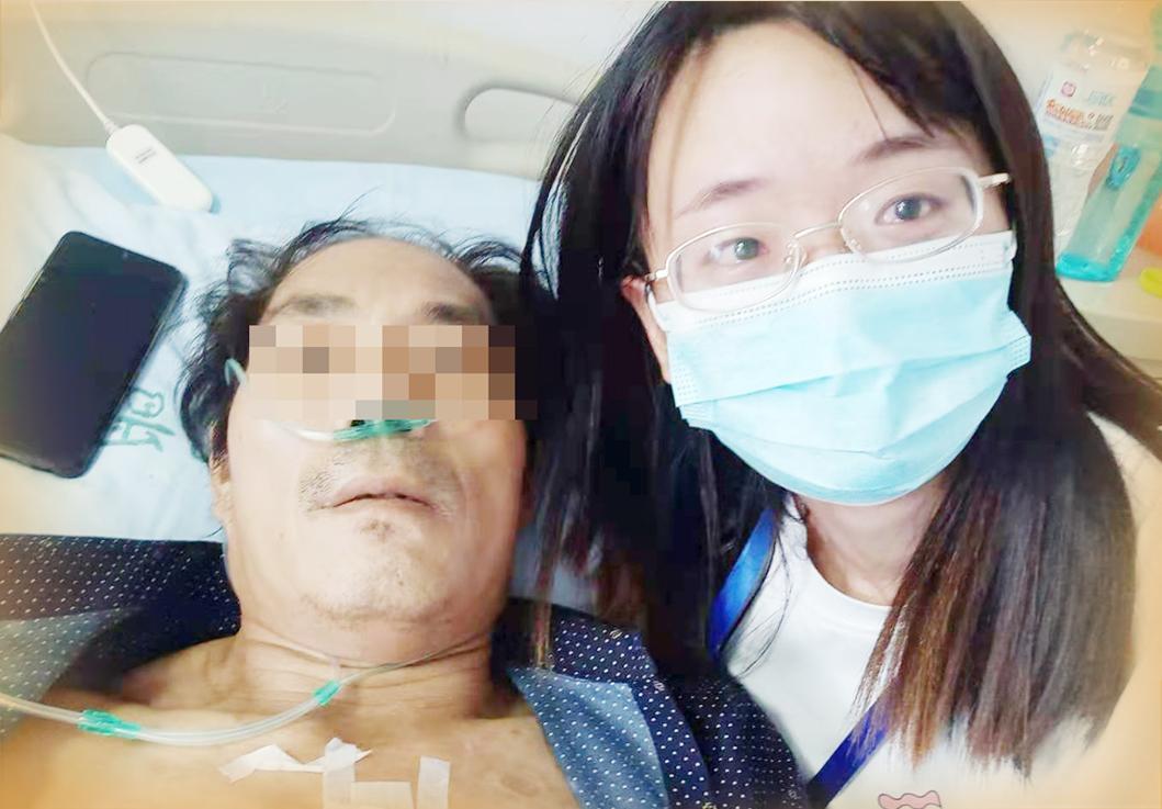 父亲病重,女孩筹款救父
