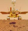 """""""祝融号""""火星车完成既定探测任务"""