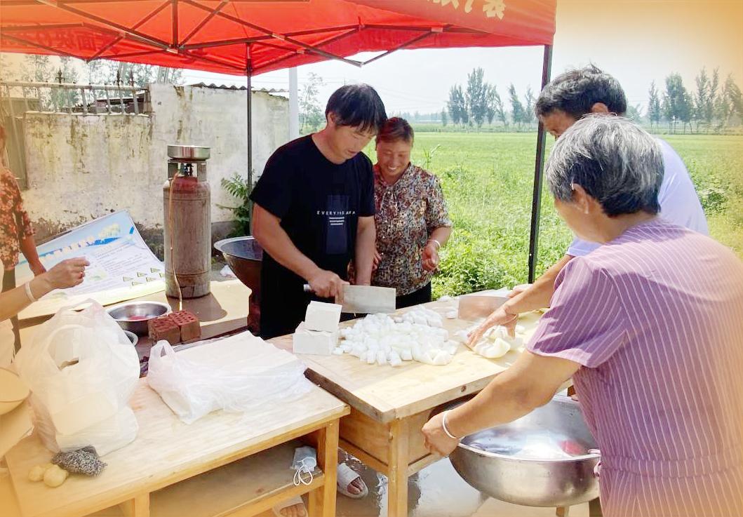 记者探访河南受灾群众安置点