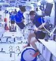 """神舟十二号航天员乘组在轨""""满月"""""""