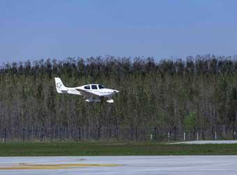 济南商河通用机场首飞,计划年底前正式通航